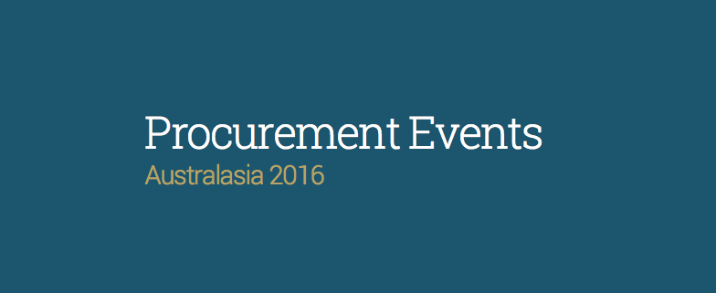 procurement-events-australasia-2016