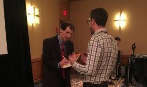 Book signing by Daniel Shapiro