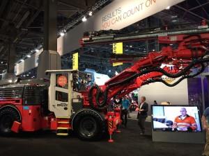 Acquire Procurement Services Sandvik Underground Drilling Vehicle 3D Scanning Technology