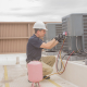 HVAC Technician Maintenance