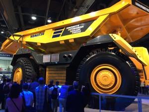 Acquire Procurement - Driverless Komatsu Haulage Vehicle